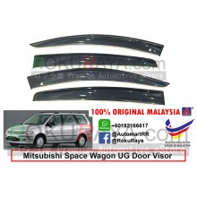 Mitsubishi Chariot Savrin Space Wagon UG (3rd Gen) 1997-2003 AG Door Visor Air Press Wind Deflector (Big 12cm Width)