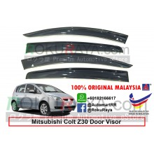 Mitsubishi Colt Z30 2002-2012 AG Door Visor Air Press Wind Deflector (Big 12cm Width)