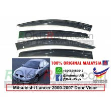 Mitsubishi Lancer 2000-2007 AG Door Visor Air Press Wind Deflector (Big 12cm Width)