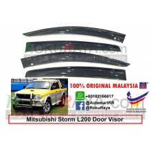 Mitsubishi Storm L200 (3rd Gen) 1996-2005) AG Door Visor Air Press Wind Deflector (Big 12cm Width)