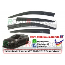 Mitsubishi Lancer GT 2007-2017 AG Door Visor Air Press Wind Deflector (AG Mugen Design)