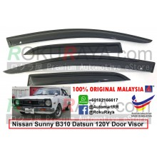 Nissan Sunny B310 Datsun 120Y 1977-1981 AG Door Visor Air Press Wind Deflector (Small 7cm Width)