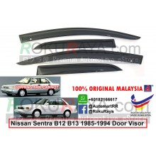 Nissan Sentra B12 B13 1985-1994 AG Door Visor Air Press Wind Deflector (Small 7cm Width)