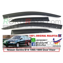 Nissan Sentra B14 1995-1999 AG Door Visor Air Press Wind Deflector (Small 7cm Width)