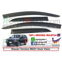 Nissan Terrano WD21 (1st Gen) 1987-1995 AG Door Visor Air Press Wind Deflector (Small 7cm Width)