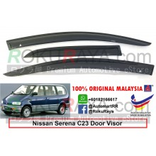 Nissan Serena MkI C23 3Pieces (1st Gen) 1991-2002 AG Door Visor Air Press Wind Deflector (Medium 8cm Width)