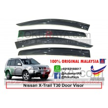 Nissan X-Trail Xtrail T30 (1st Gen) 2000-2007 AG Door Visor Air Press Wind Deflector (Big 12cm Width)