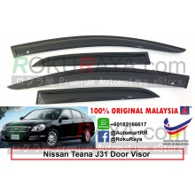 Nissan Teana J31 (1st Gen) 2003-2008 AG Door Visor Air Press Wind Deflector (Small 7cm Width)