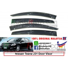 Nissan Teana J31 (1st Gen) 2003-2008 AG Door Visor Air Press Wind Deflector (Big 12cm Width)