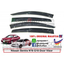 Nissan Sentra G10 N16 2000 AG Door Visor Air Press Wind Deflector (Big 12cm Width)