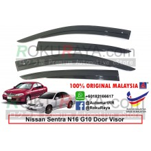 Nissan Sentra G10 N16 2000 AG Door Visor Air Press Wind Deflector (AG Mugen Design)