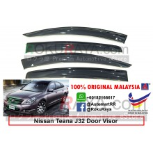 Nissan Teana J32 (2nd Gen) 2009-2013 AG Malaysia Door Visor Air Press Wind Deflector (Big 12cm Width)