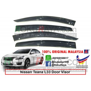 Nissan Teana L33 (3rd Gen) 2013 AG Door Visor Air Press Wind Deflector (Big 12cm Width)
