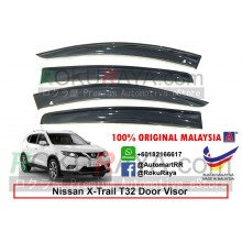 Nissan X-Trail Xtrail T32 (3rd Gen) 2013 AG Door Visor Air Press Wind Deflector (Big 12cm Width)
