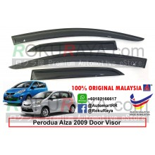 Perodua Alza 2009 AG Door Visor Air Press Wind Deflector (Small 7cm Width)