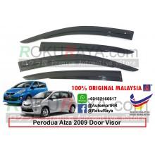 Perodua Alza 2009 AG Door Visor Air Press Wind Deflector (AG Mugen Design)