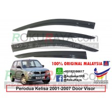 Perodua Kelisa 2001-2007 AG Door Visor Air Press Wind Deflector (AG Mugen Design)
