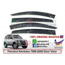 Perodua Kembara 1998-2008 AG Door Visor Air Press Wind Deflector (Big 12cm Width)