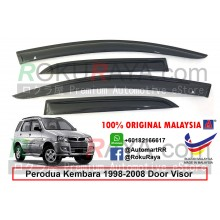Perodua Kembara 1998-2008 AG Door Visor Air Press Wind Deflector (Small 7cm Width)