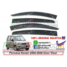 Perodua Kenari 2000-2008 AG Door Visor Air Press Wind Deflector (Big 12cm Width)
