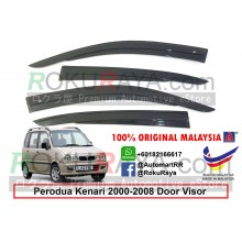 Perodua Kenari 2000-2008 AG Door Visor Air Press Wind Deflector (AG Mugen Design)