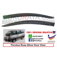 Perodua Rusa 1996–2003 AG Door Visor Air Press Wind Deflector (Small 7cm Width)