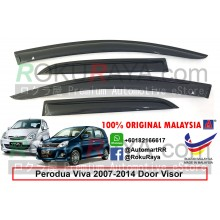 Perodua Viva 2007-2014 AG Door Visor Air Press Wind Deflector (Small 7cm Width)