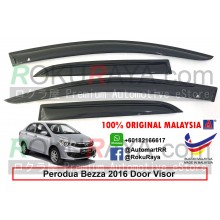 Perodua Bezza 2016 AG Door Visor Air Press Wind Deflector (Small 7cm Width)