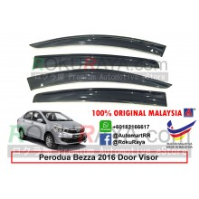 Perodua Bezza 2016 AG Door Visor Air Press Wind Deflector (Big 12cm Width)