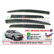 Perodua Bezza 2016 AG Door Visor Air Press Wind Deflector (Flat 10cm Width)