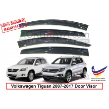 Volkswagen Tiguan (1st Gen) 2007-2017 AG Door Visor Air Press Wind Deflector (Big 12cm Width)