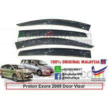 Proton Exora 2009 AG Door Visor Air Press Wind Deflector (Big 12cm Width)