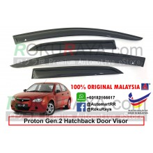 Proton Gen2 Gen 2 Hatchback AG Door Visor Air Press Wind Deflector (Small 7cm Width)
