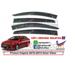 Proton Inspira 2010-2015 AG Door Visor Air Press Wind Deflector (Big 12cm Width)