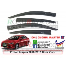 Proton Inspira 2010-2015 AG Door Visor Air Press Wind Deflector (AG Mugen Design)