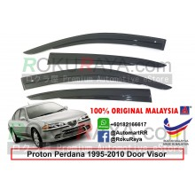 Proton Perdana (1st Gen) 1995-2010 AG Door Visor Air Press Wind Deflector (AG Mugen Design)