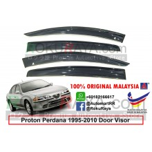 Proton Perdana (1st Gen) 1995-2010 AG Door Visor Air Press Wind Deflector (Big 12cm Width)