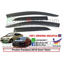 Proton Perdana (2nd Gen) 2016 AG Door Visor Air Press Wind Deflector (Medium 8cm Width)