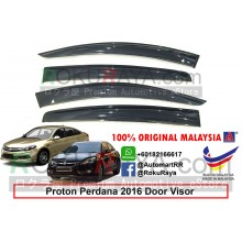 Proton Perdana (2nd Gen) 2016 AG Door Visor Air Press Wind Deflector (Big 12cm Width)