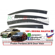 Proton Perdana (2nd Gen) 2016 AG Door Visor Air Press Wind Deflector (AG Mugen Design)