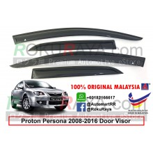 Proton Persona (1st Gen) 2008-2016 AG Door Visor Air Press Wind Deflector (Small 7cm Width)