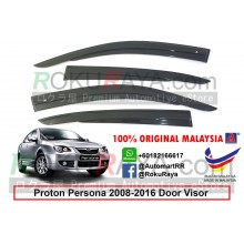 Proton Persona (1st Gen) 2008-2016 AG Door Visor Air Press Wind Deflector (AG Mugen Design)