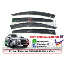 Proton Persona (1st Gen) 2008-2016 AG Door Visor Air Press Wind Deflector (Big 12cm Width)