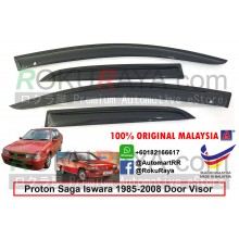 Proton Saga Iswara (1st Gen) 1985-2008 AG Door Visor Air Press Wind Deflector (Small 7cm Width)
