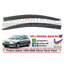 Proton Satria 2Door (1st Gen) 1994-2006 AG Door Visor Air Press Wind Deflector (Small 7cm Width)