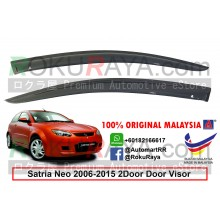 Proton Satria Neo 2Door (2nd Gen) 2006-2015 AG Door Visor Air Press Wind Deflector (Small 7cm Width)