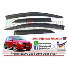 Proton Savvy Hatchback 2005-2010 AG Door Visor Air Press Wind Deflector (Small 7cm Width)