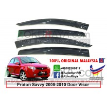 Proton Savvy Hatchback 2005-2010 AG Door Visor Air Press Wind Deflector (Big 12cm Width)