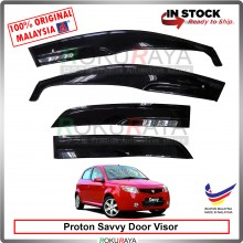 Proton Savvy Hatchback 2005-2010 AG Door Visor Air Press Wind Deflector (AG Mugen Design)