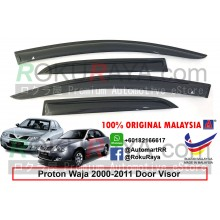 Proton Waja 2000-2011 AG Door Visor Air Press Wind Deflector (Small 7cm Width)